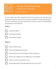 Sample business plan template for non profit